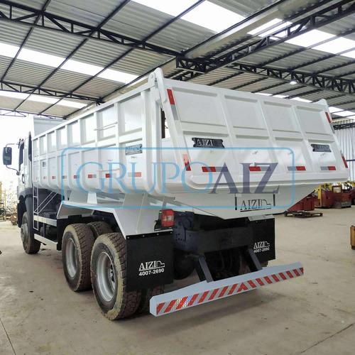 Caminhão Vw 26.280 6x4 Traçado Caçamba Basculante 12 M3 0km