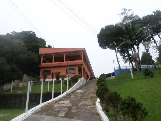 Chacara Com 3 Casas, 2 Piscinas E Campo Só R$ 450.000,00