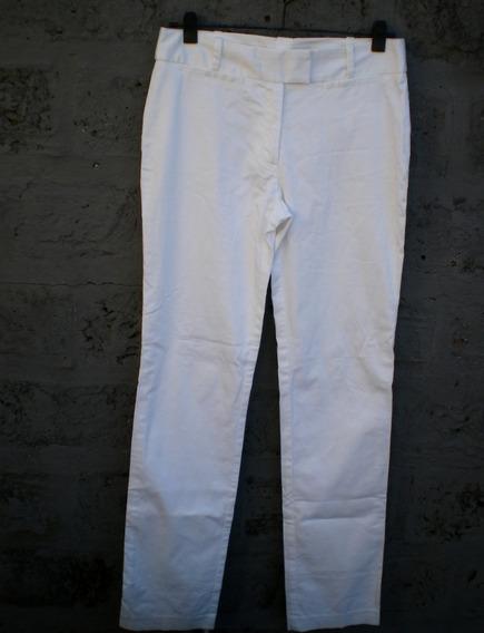 Pantalón Blanco Vestir Zara
