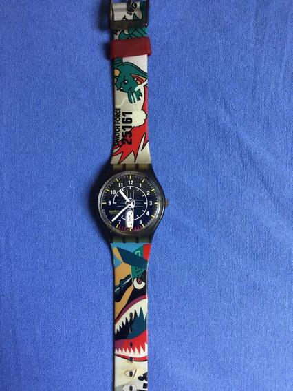 N15 Relógio Swatch Modelo Discobulus De Colecao Nao Usado