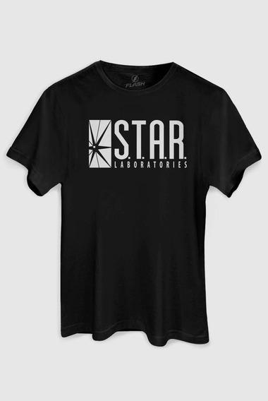 Camiseta Dc Comics Star Laboratório - Laboratórios Stark