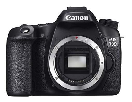 Câmera Dslr Canon 70d Wifi Corpo