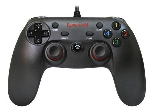 Controle Joystick Redragon Saturn G807 Preto - O Melhor