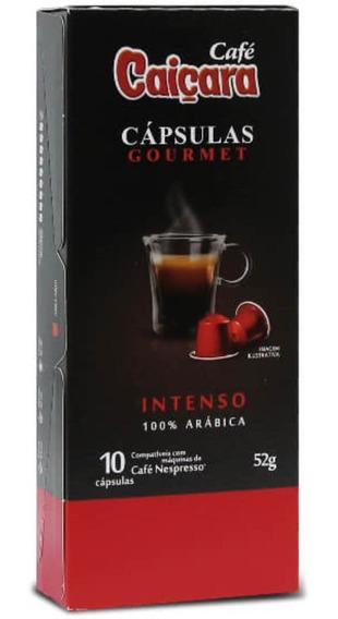 Cápsula Café Caiçara Gourmet Intenso 100% Arábica - 52g