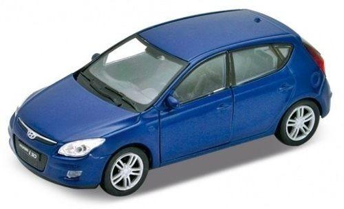 Hyundai I30 Escala 1:24 Welly Azul