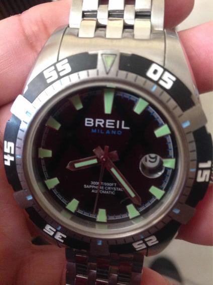 Lindo Relógio Masculino Breil Milano Automatic.