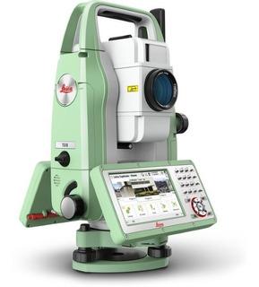 Estación Total Leica Flexline Ts10-5seg R500