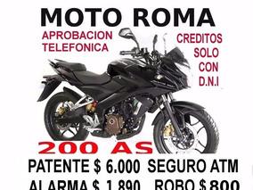 Bajaj Rouser 200 Motoroma