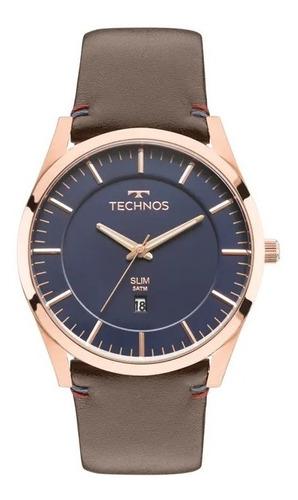 Relógio Technos Masculino Rosé Slim Gm10yh/2a