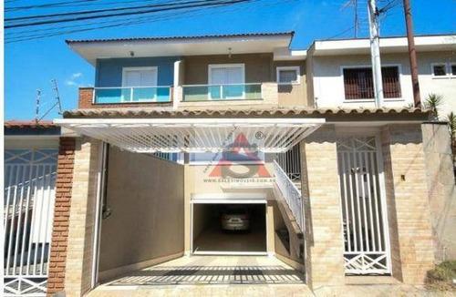 Sobrado Com 3 Dormitórios À Venda, 300 M² Por R$ 1.590.000 - Jardim São Paulo(zona Norte) - São Paulo/sp - So4686