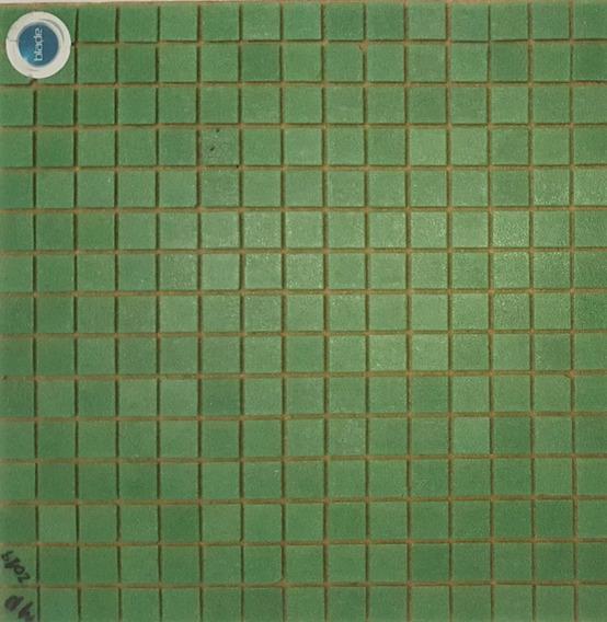 Venecitas Verde Ingles 2x2 Cm Biseladas Para Piletas X M2 !