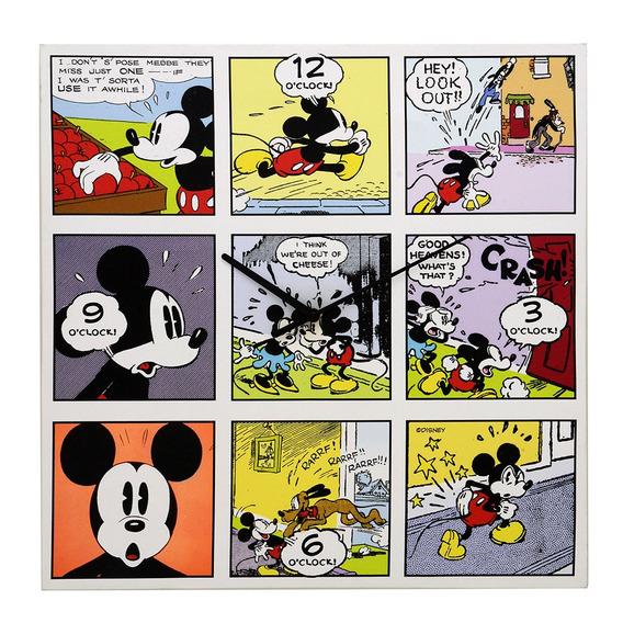 Relógio De Parede Decorativo - Disney - Mickey Mouse - Comic