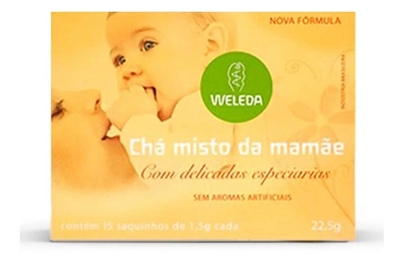Weleda Chá Misto Da Mamãe 22,5g C/15 Unidades