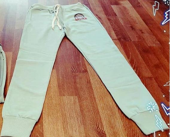 Pantalon Tipo Jogging De Friza Liviana Colores Varios Unisex