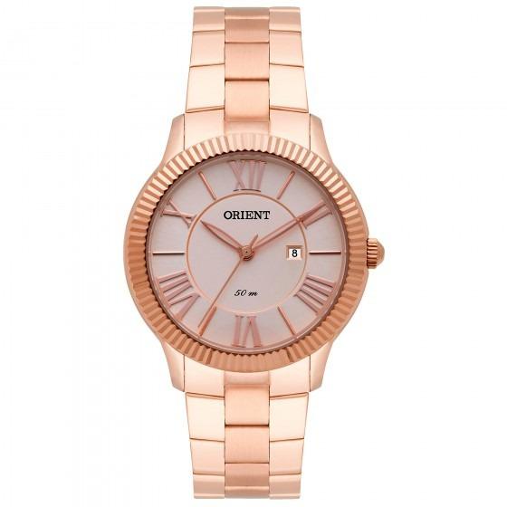 Relógio Orient Frss1027 R3rx Feminino Dour Rosê - Refinado