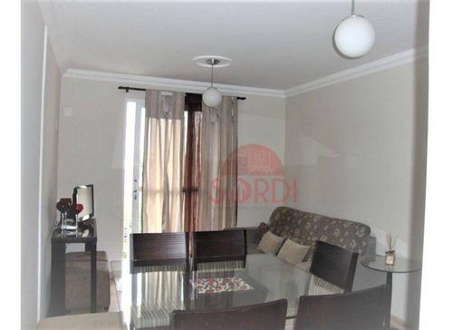 Imagem 1 de 11 de Apartamento À Venda, 76 M² Por R$ 265.000,00 - Parque Industrial Lagoinha - Ribeirão Preto/sp - Ap3642