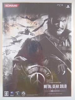 Metal Gear Solid: Peace Walker Hd - Premium Pack - Nuevo