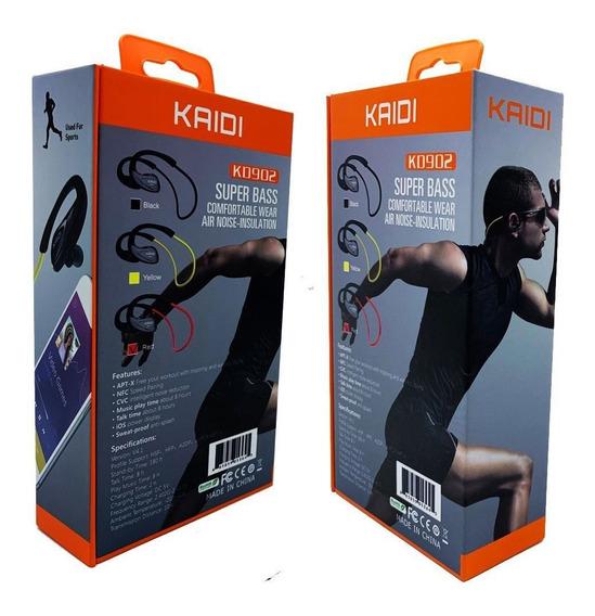 Fone De Ouvido Inteleligente Kaidi 902 Sports Super Conforto