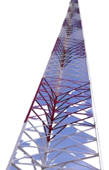 Torre Modelo Autoportante 15 Metros Para Fm Via Radio
