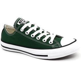 Tênis All Star Verde Floresta Ct04200029 Original C/nota
