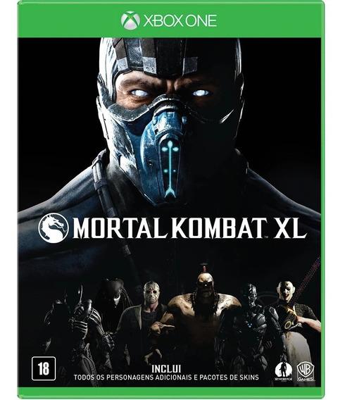 Jogo Xbox One Mortal Kombat Xl - Novo