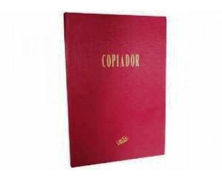 Libro Copiador Rab 100 Paginas Tapa Dura 25.5x36 Cm