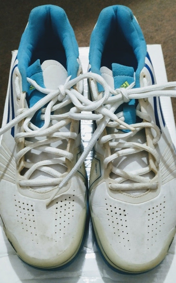 Tênis adidas Pipper N.38, Branco Com Azul