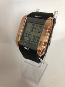 Reloj Nike Digital Cuadrado, Crono,hora Fecha, Luz Electrolu