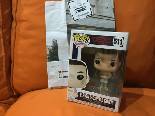 Funko Pop Television Stranger Things Eleven Hospital Gown