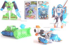 2 Transformers Rescue Bots Boulder E Blades Copter E Constru