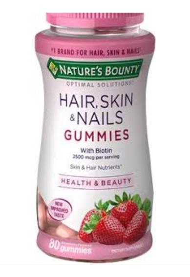 Vitamina Cabello Hair, Skin & Nails Biotin