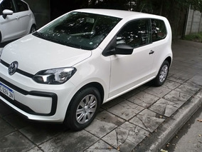 Volkswagen Up! 1.0 Take Up! Aa 75cv 2017 Blanco 3.000 Kms.