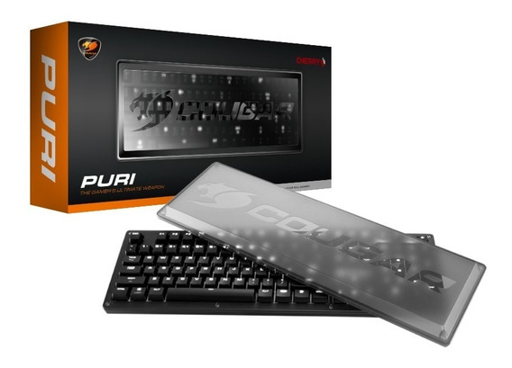 Cougar Teclado Puri Mecanico Led Blanco Switch Red