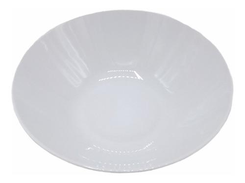 Ensaladera Bowl 24 Cm Porcelana Blanca Leonberg Oferta