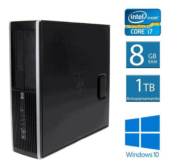 Computador Desktop Hp Elite 8200 I7 8gb 1tb Hd