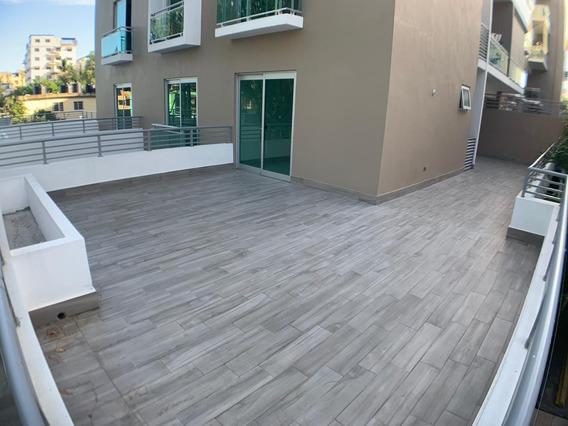 Apartamento Nuevo Con 2 Terrazas En El Millon