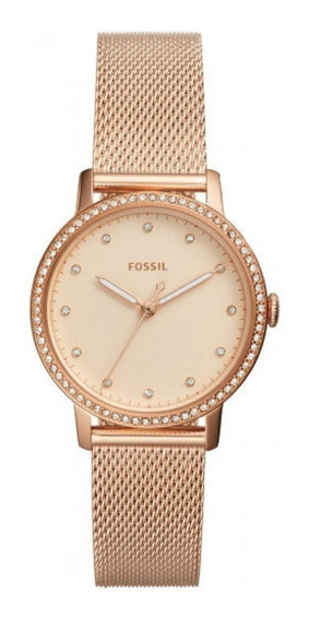 Reloj Fossil Correa Metal Rose