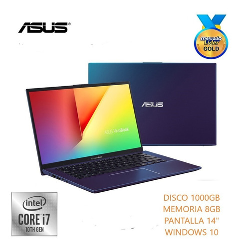 Laptop Portatil Asus Intel Core I7 10ma 1000gb/ram 8gb/14