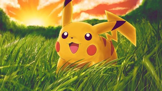 Póster Pokémon Lámina 48x32cm. 300gs. Pikachu