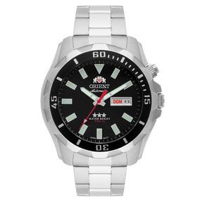 Relógio Orient Automático Masculino Aço Preto 469ss078 P1sx