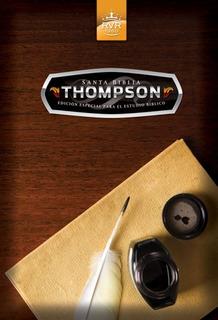 Biblia Thompson Edición Estudio Bíblico Tapa Dura Con Funda