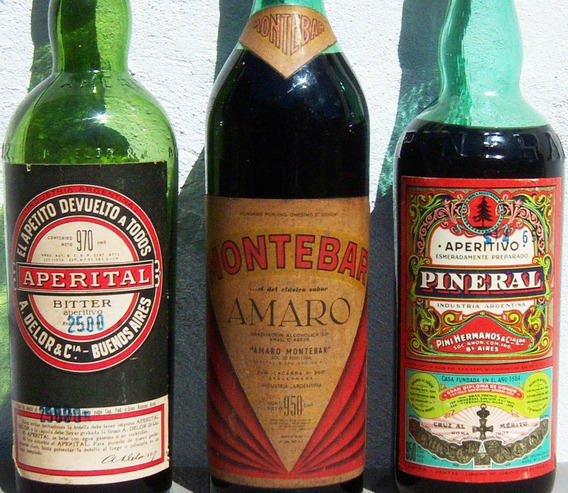 Historical* - Botella Antigua De Pineral Llena -envío