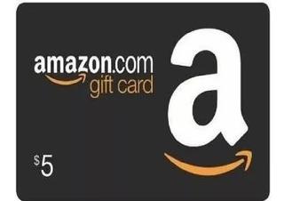 Amazon Gift Card Región Usa 5 Usd Codigo Digital