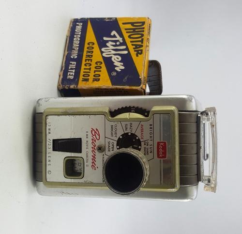 Camara Filmadora 8 Mm. Brownie Kodak Ii Años 50 Antiguedades