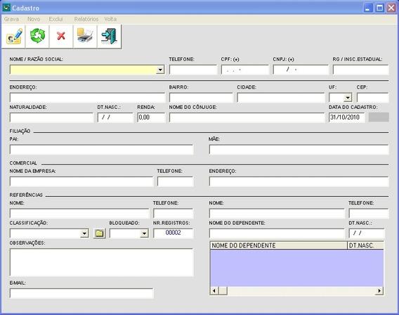 Sistema Programa Software Para Lojas De Confecções, Roupas