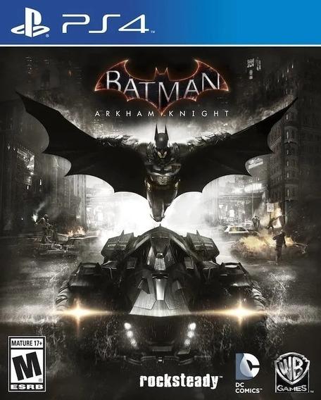 Batman Arkhan Knight Ps4 Mídia Física São Gonçalo Rj