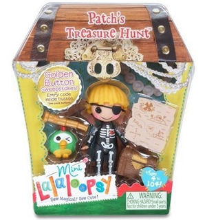 Lalaloopsy Mini Patch.s Treasure Hunt (patch Treasurechest)
