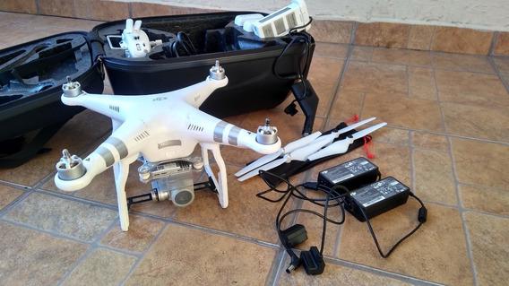 Drone Phantom 3 Advanced Com Baterias Extras E Acessorios