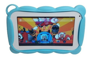 Tablet Kids 7 Plgadas + Funda. Día Del Niño