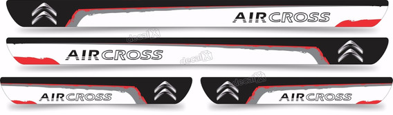 Soleira Resinada Carro Citroen Aircross Sol12 Fk
